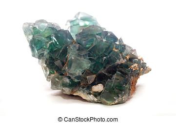 fluorite mineral sample - multi colored fluorite mineral...