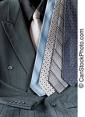Suit and Tie Assortment