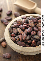 raw cacao cocoa beans