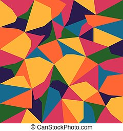 vector abstract irregular polygon background with pattern in...
