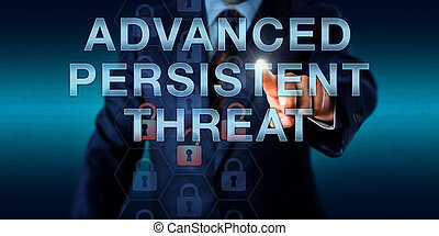 Manager Pushing ADVANCED PERSISTENT THREAT - White collar...