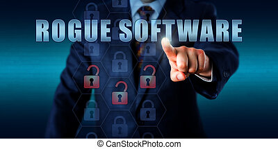 Misled User Pressing ROGUE SOFTWARE - Misled corporate...