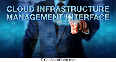 Pressing CLOUD INFRASTRUCTURE MANAGEMENT INTERFACE - Systems...