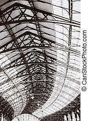 architecture roof or ceiling  Brighton train station