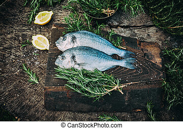 Bream fish - Healthy eating Bream fish preparation Seafood...