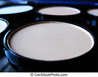Neon White Palette  - a Neon white palette for cosmetic use