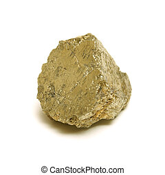 Gold Nugget - A macro shot of a nice size gold nugget.