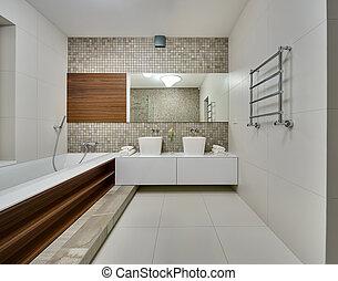 Bathroom in a modern style