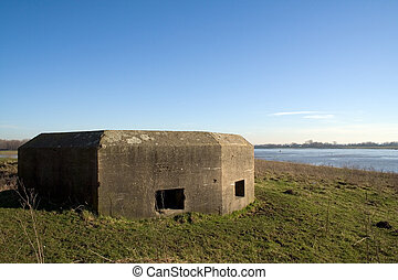 WW2 bunker - Old WW2 bunker