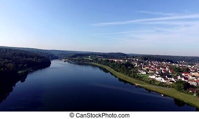 flight over germany - Twistesee