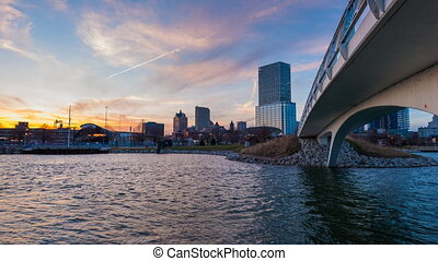 Milwaukee Wisconsint 4k Time-lapse - Milwaukee Wisconsin Day...