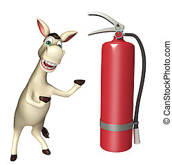 Donkey cartoon character Donkey cartoon character with...