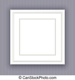 blank picture frame - Blank white picture frame design
