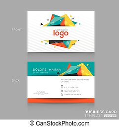 Abstract Business card Template - Abstract Business card...