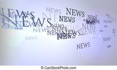 lot News fly from speaker