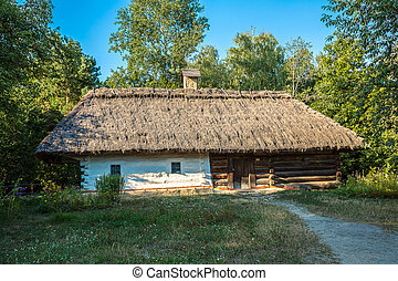 Pirogovo museum in a summer day, Kiev, Ukraine - Traditional...