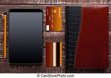 Accessories for online shopping and payment