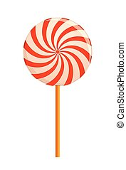 hypnotizing Lollipop Vector illustration - hypnotizing...