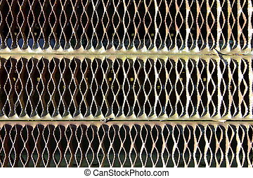 Metal mesh background - background patterns of metal mesh
