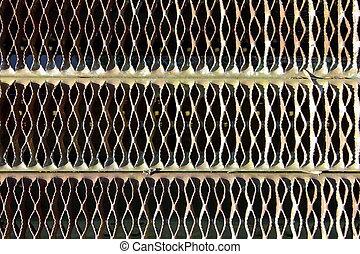 Metal mesh background - background patterns of metal mesh