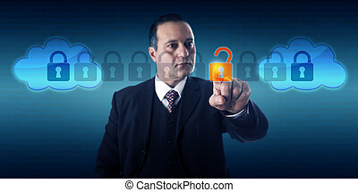 Manager Unlocking Data In Intercloud Exchange - Highly...