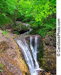 Waterfall, Mala Fatra, Slovakia