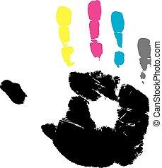 handprint illustration
