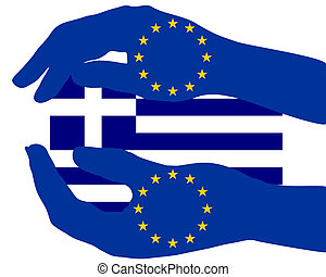European support for Greece