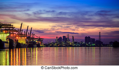 Cargo Industrial - Dawn Cargo Import Industrial Port