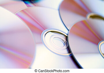 DVD Disks background