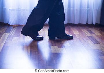 danse, danseur, Salle bal,  latin