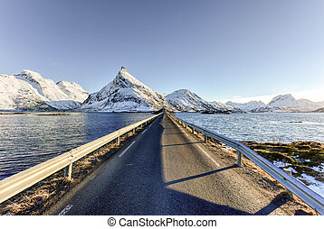 Fredvang Bridges - Lofoten Islands, Norway