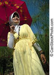 musulman, dame