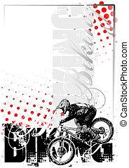 biking background 1