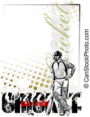 cricket background - cricket poster background
