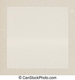 Vintage background, sheet of paper with border