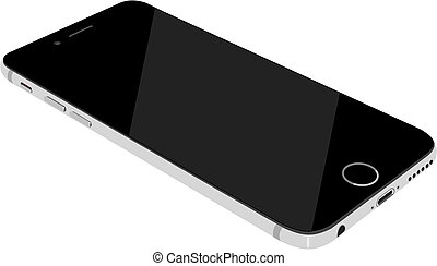 Smartphone isolated on white - Smartphone modern touch...