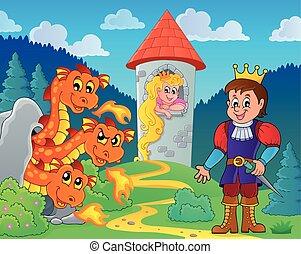Fairy tale theme image