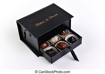 chocolate and praline box - chocolate and praline luxury box...