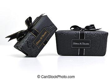 chocolate and praline box - chocolate and praline luxury box...