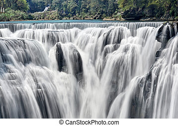 Shifen Waterfall   - Beautiful shifen waterfall in taiwan