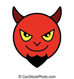 Icon of red devil