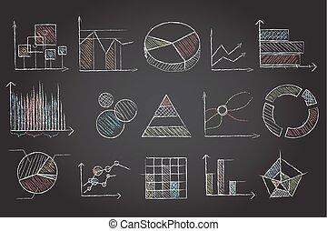 Chalk board charts