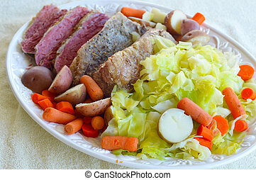 Fresh corned beef - Patrick's Day corned beef delicious...