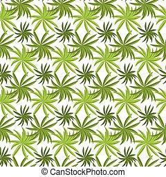 Tropical grass field seamless pattern. Fresh green summer...