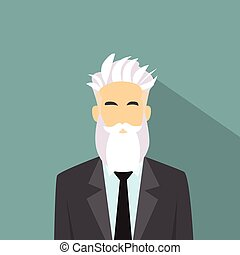 Business Man Profile Icon Male Avatar Hipster Style Fashion...