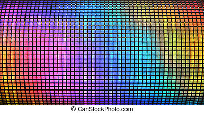 Abstract disco background - Colorful abstract disco...