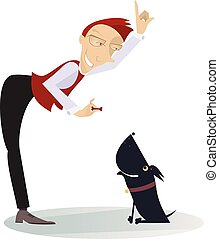 A dog trainer