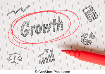 Growth note with sketches