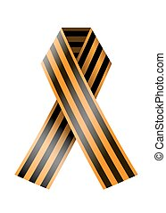 vector St. George ribbon on a white background